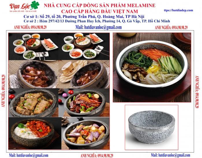 Bán Bát tô đá giữ nhiệt Nghệ thuật ẩm thực kiểu Hàn Quốc2