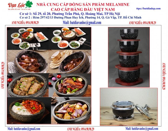 Bán Bát tô đá giữ nhiệt Nghệ thuật ẩm thực kiểu Hàn Quốc6