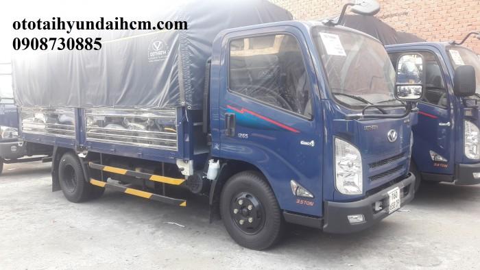 xe tải iz65 thùng bạt - 3.5 tấn khuyến mãi thuế trước bạ