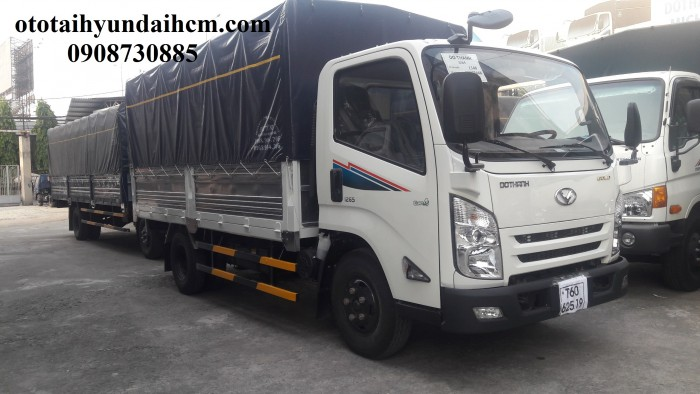 xe tải iz65 thùng bạt - 3.5 tấn khuyến mãi thuế trước bạ 0