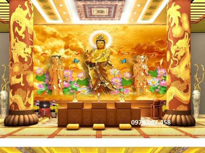 Tranh trang trí điện thờ đức phật6