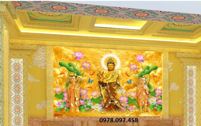 Tranh trang trí tường đức phật5