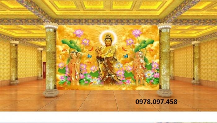 tranh đức phật trang trí phòng thờ7