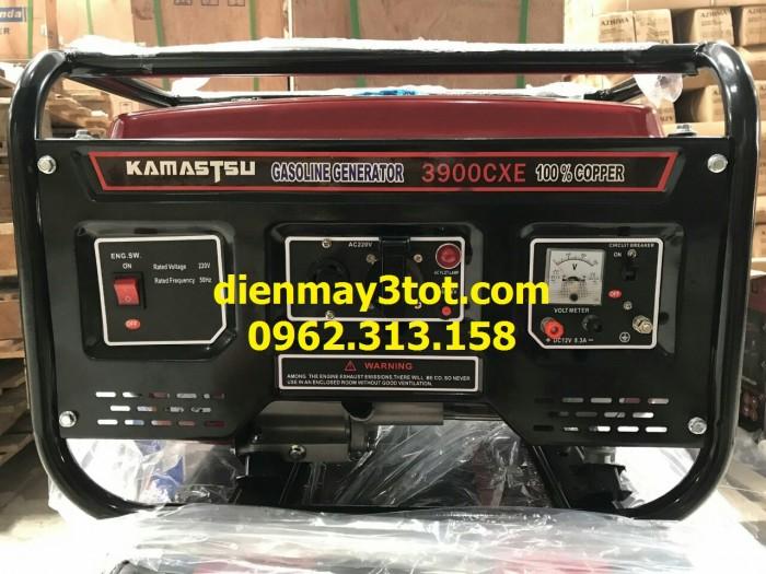 Máy phát điện chạy xăng 3kw Kamastsu 3900 CXE giá rẻ nhất1