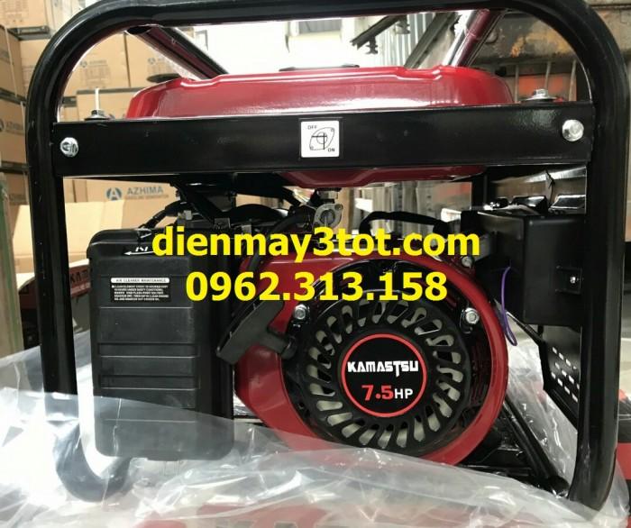 Máy phát điện chạy xăng 3kw Kamastsu 3900 CXE giá rẻ nhất2
