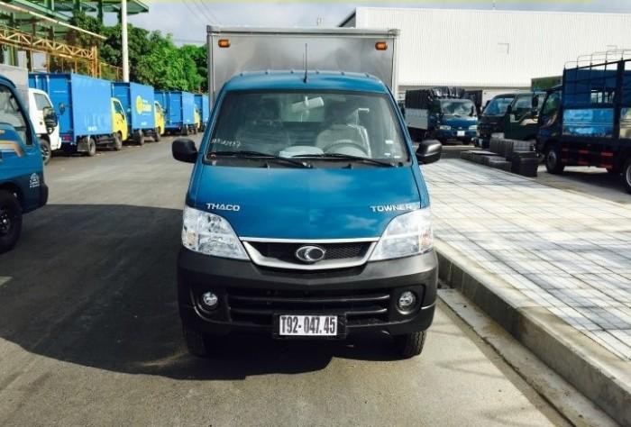 Cần bán xe tải Towner990 thùng kín, thùng mui bạt, thùng lững động cơ SUZUKI K14B-A 4