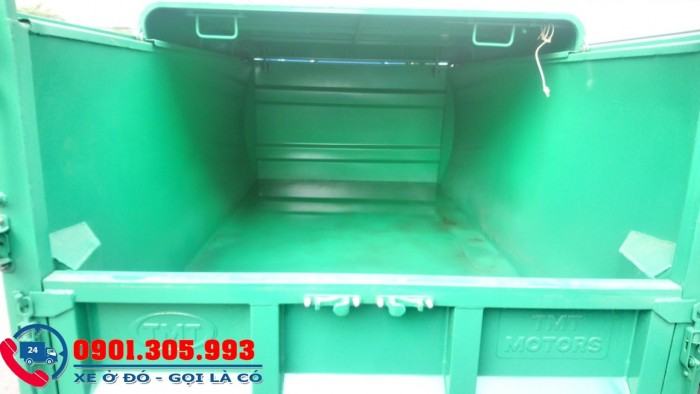 Xe chở rác 1 tấn thùng 3 khối 5 nhãn hiệu jac cao cấp 4