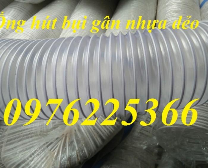 Ống hút bụi gân nhựa, ống hút bụi gân thép chuyên phân phôi3