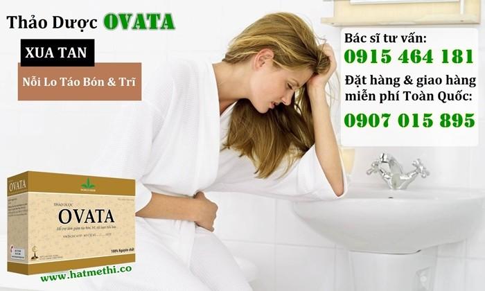 Thảo dược OVATA cải thiện Cơn Đau Trĩ, phòng ngừa táo bón & chống tái phát Trĩ4