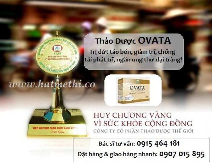 Thảo dược OVATA cải thiện Cơn Đau Trĩ, phòng ngừa táo bón & chống tái phát Trĩ2