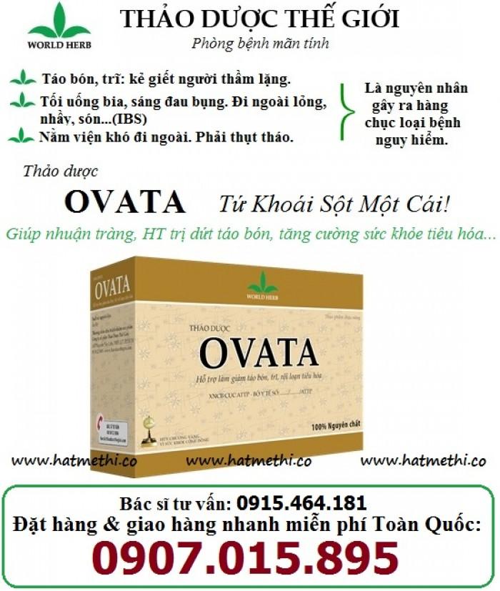 Thảo dược OVATA cải thiện Cơn Đau Trĩ, phòng ngừa táo bón & chống tái phát Trĩ1