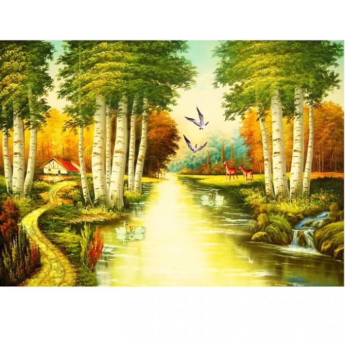 tranh phong cảnh dòng sông28