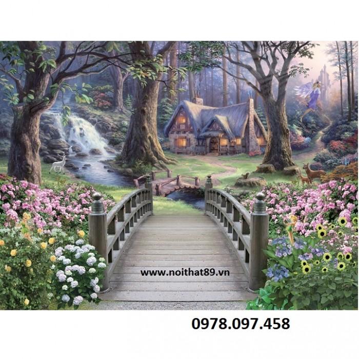 tranh vườn cổ tích25