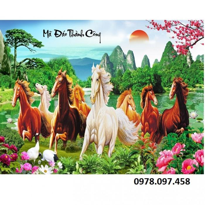 Tranh con ngựa14