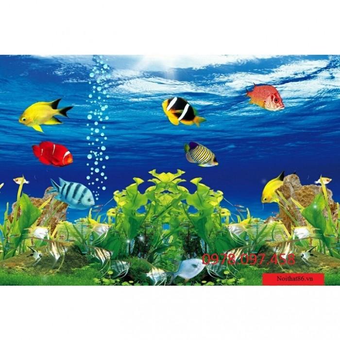 Gạch tranh cá biển12