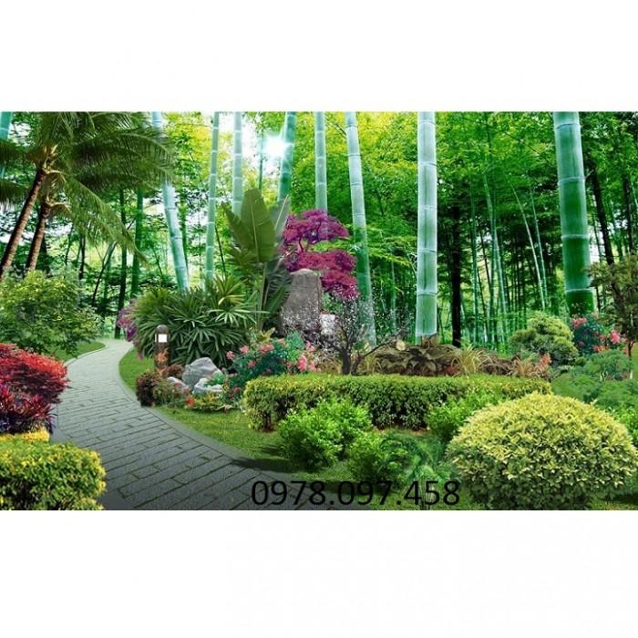 tranh phong cảnh rừng cây10