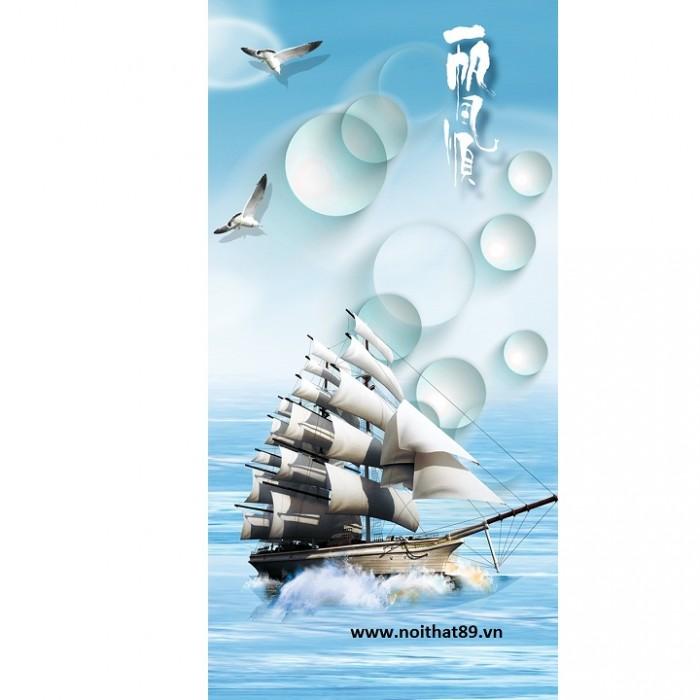 tranh thuyền và biển5