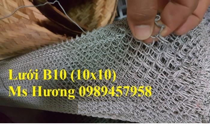 Sản xuất lưới b20 mạ kẽm, b20 bọc nhựa hàng có sẵn2