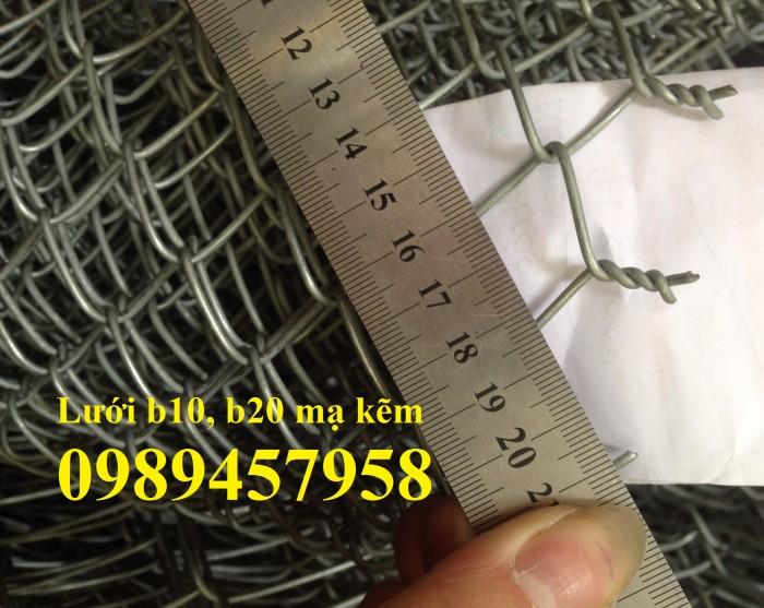 Sản xuất lưới b20 mạ kẽm, b20 bọc nhựa hàng có sẵn1