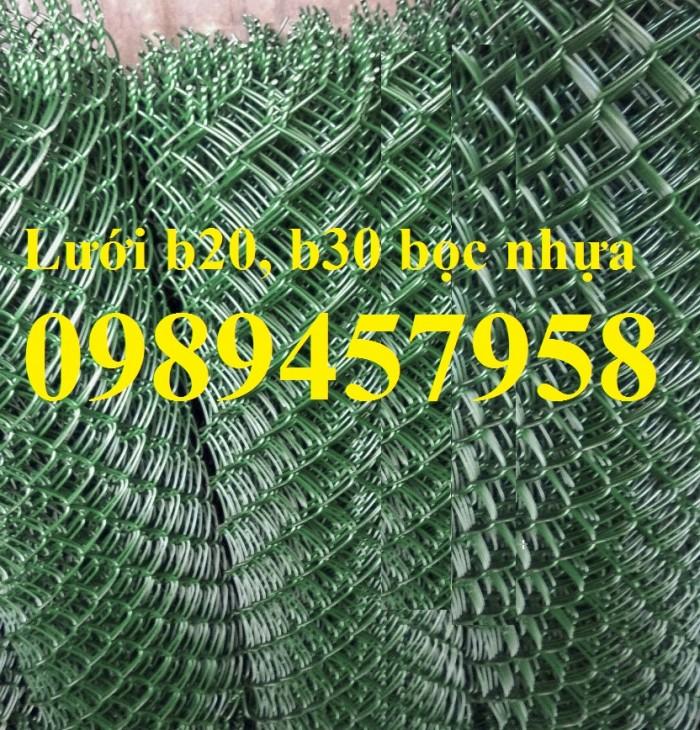 Lưới b20 mạ kẽm, b20 bọc nhựa hàng có sẵn0