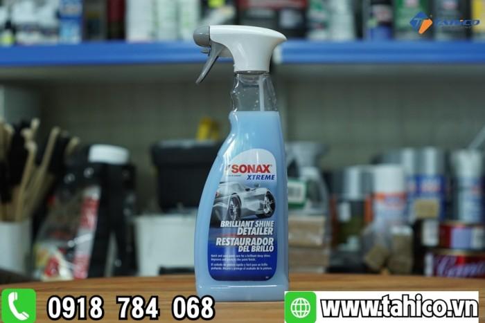 Dung dịch làm bóng nhanh bề mặt sơn xe Sonax (xanh)2