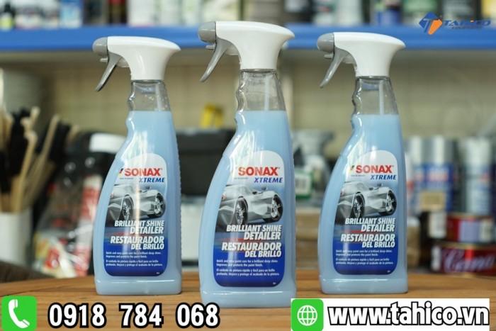 Dung dịch làm bóng nhanh bề mặt sơn xe Sonax (xanh)1