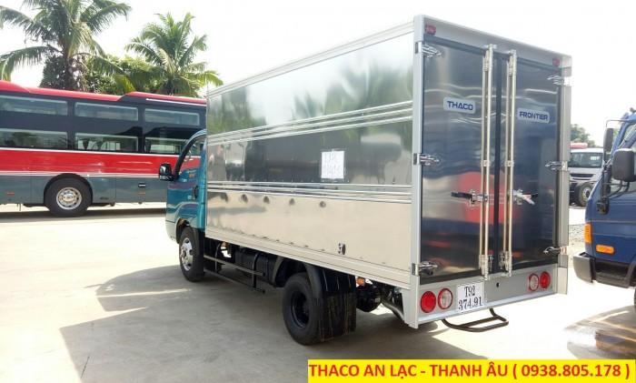Xe tải K250 tải trọng 2,49 và 1,49 tấn lưu thông sài gòn, bán trả góp, hỗ trợ 80% giá trị xe. 2