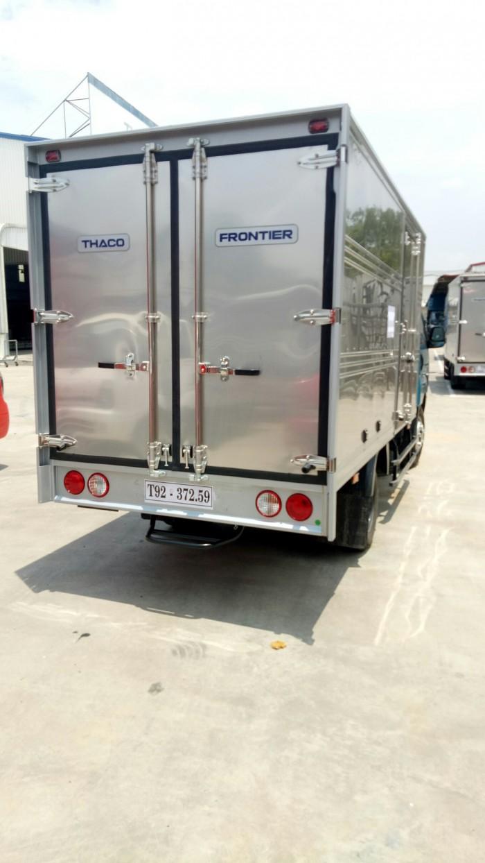 Xe tải K250 tải trọng 2,49 và 1,49 tấn lưu thông sài gòn, bán trả góp, hỗ trợ 80% giá trị xe. 0