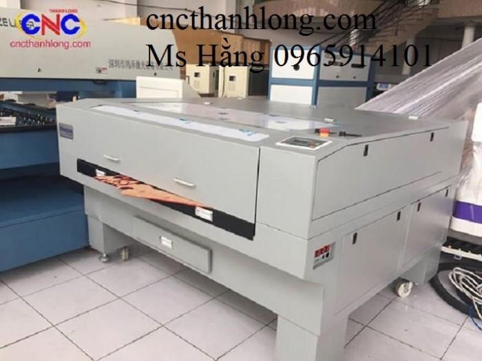 Máy laser tự động cuộn vảii, máy laser 1610- 2 đầu cắt, hướng dẫn chạy máy laser cắt vải3