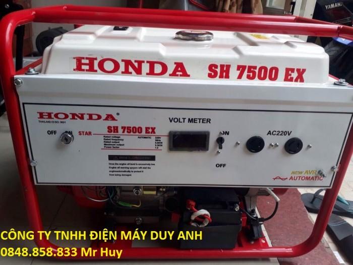 Máy phát điện chạy xăng honda SH9500EX hàng thái lan0