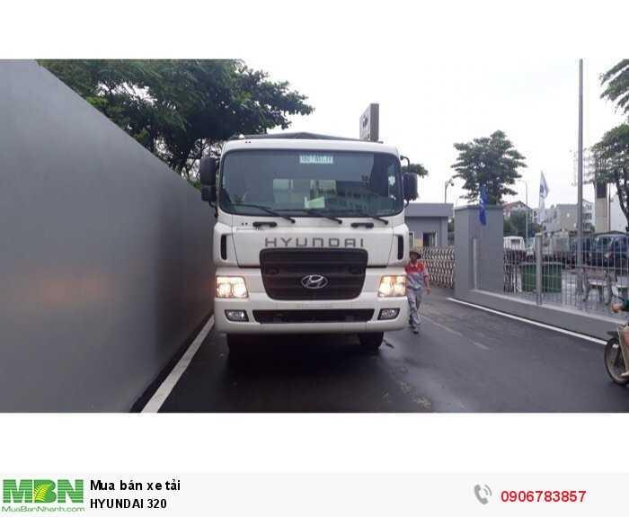Hyundai HD320 Xe tải động cơ Dầu diesel