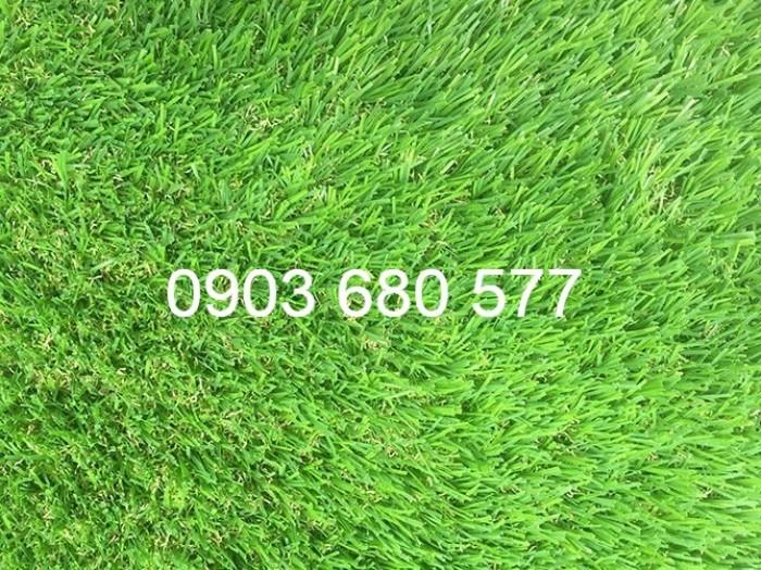 Thảm cỏ nhân tạo, thảm xốp trang trí trường mầm non1