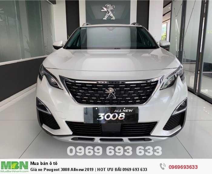 Giá xe Peugeot 3008 Allnew 2019 | HOT ƯU ĐÃI 0969 693 633