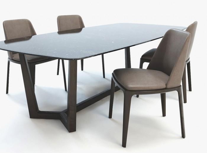 Bộ bàn ăn 4 ghế2