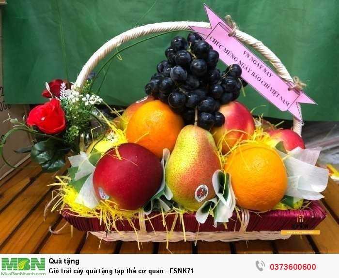 Giỏ trái cây quà tặng tập thể cơ quan - FSNK710