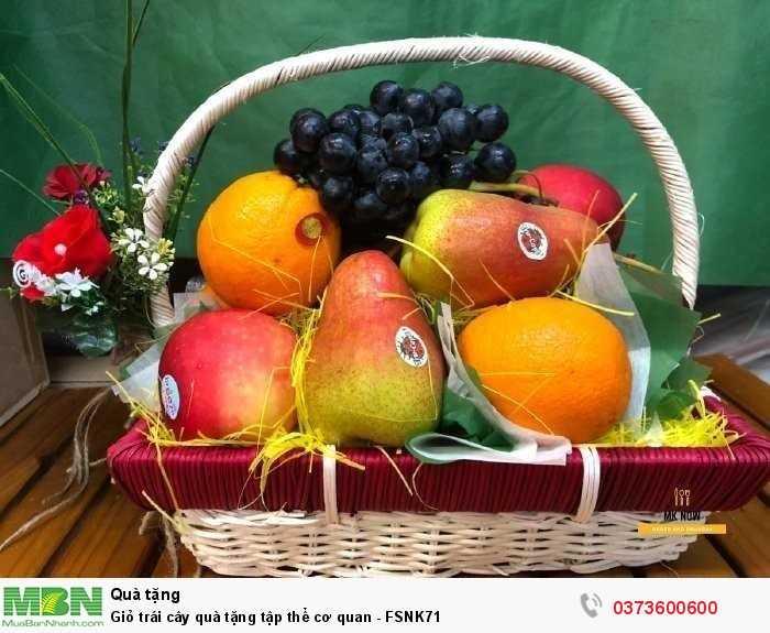 Đặt Giỏ trái cây quà tặng tập thể cơ quan - FSNK711