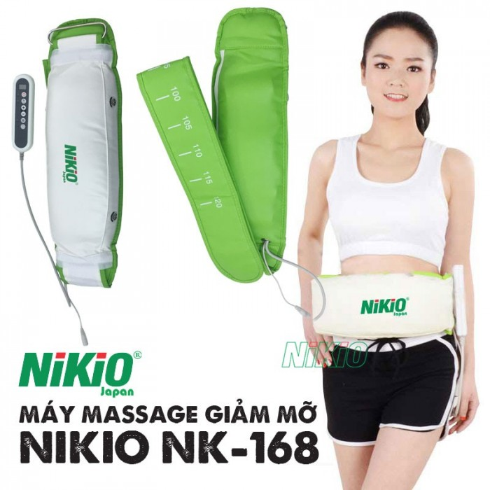 Máy massage giảm mỡ bụng Nhật Bản Nikio NK-1680