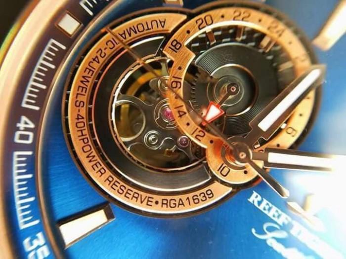 Đồng hồ nam REEF TIGER RGA1693 xanh rose gold2
