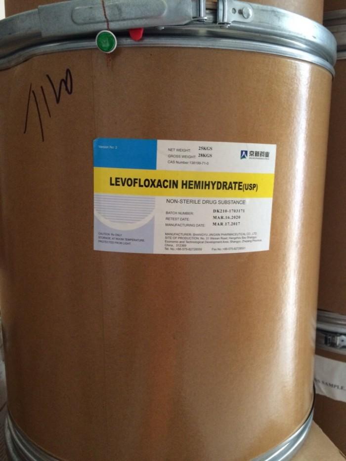 LEVOFLOXACINE 25% nguyên liệu thủy sản0