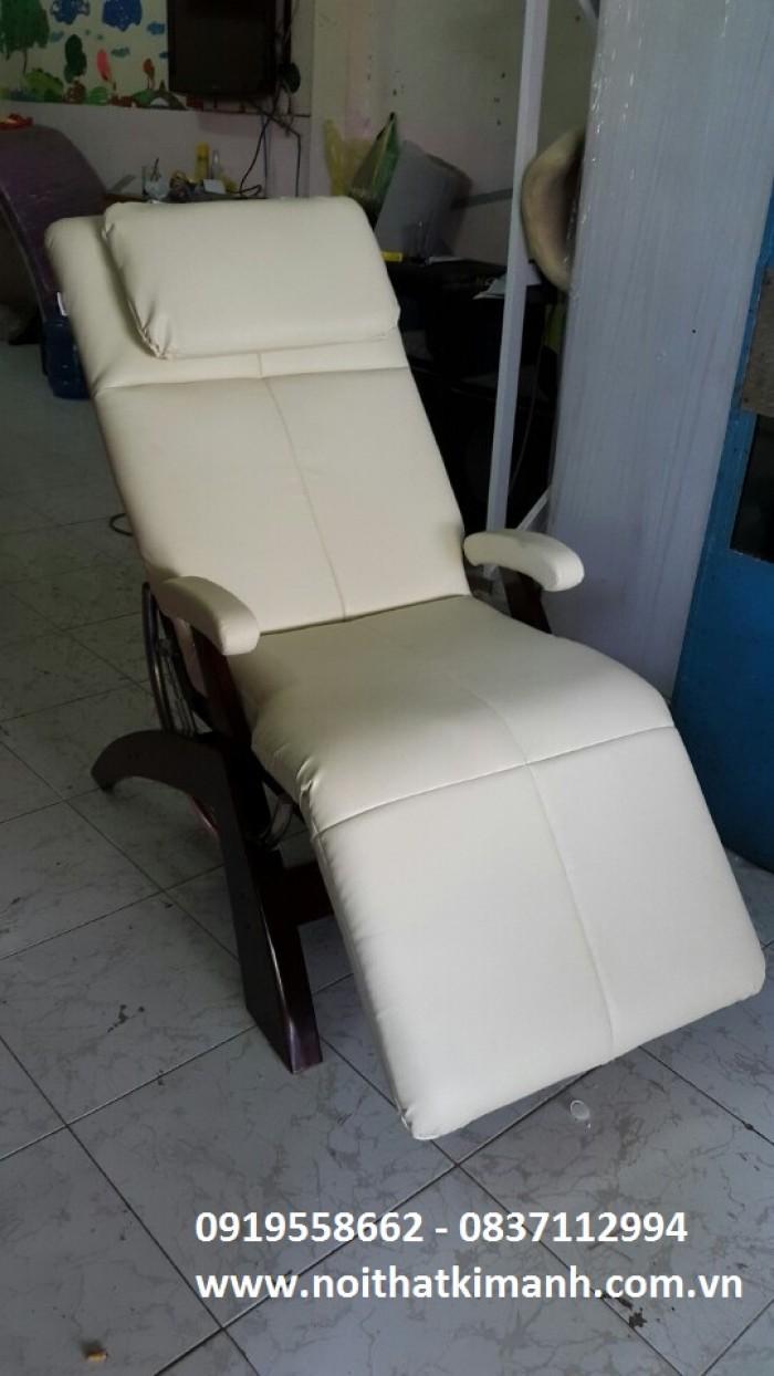 [24] Ghế nằm thư giản cho người già, sofa thư giản bán tại gò vấp, bình thạnh