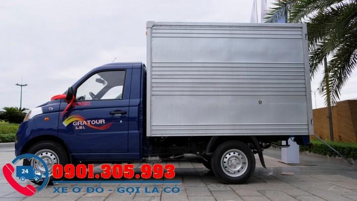 Xe tải nhỏ foton 900kg kèo mui bạt mới 100% trả góp 2