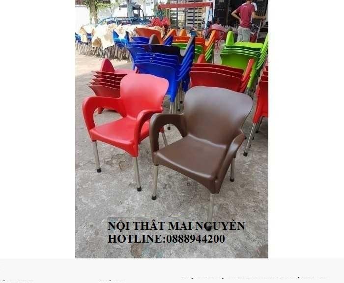 Thanh lý 500 ghế nhựa cafe giá siêu rẻ7