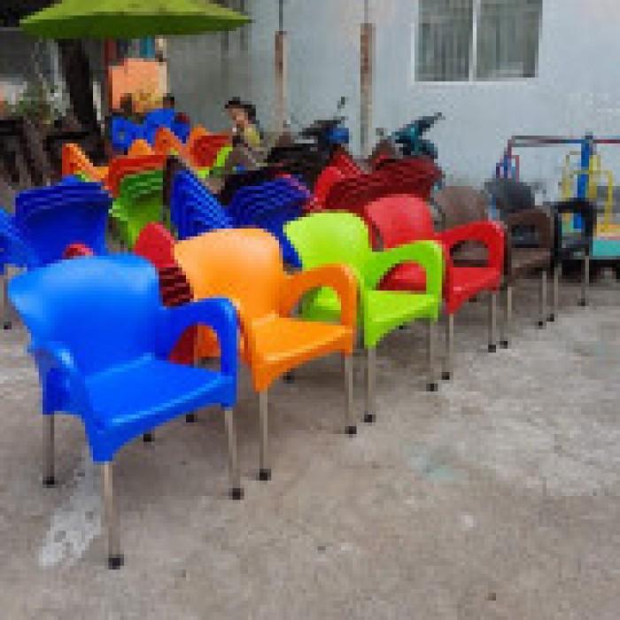 Thanh lý 500 ghế nhựa cafe giá siêu rẻ1