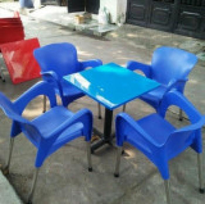 Thanh lý 500 ghế nhựa cafe giá siêu rẻ4
