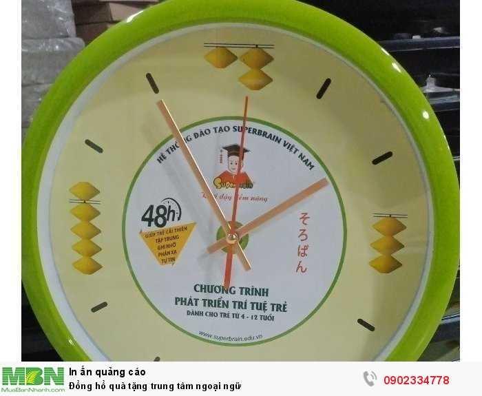 Đồng hồ in logo công ty
