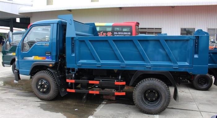 cần bán xe ben 2017 ga cơ tải trọng 5,6,8 tấn THACO FORLAND 6