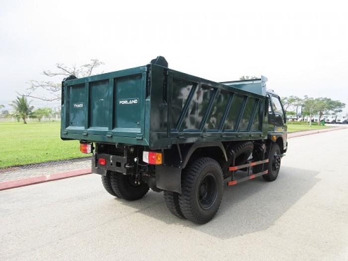 cần bán xe ben 2017 ga cơ tải trọng 5,6,8 tấn THACO FORLAND 5