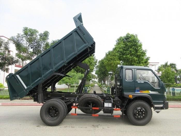 cần bán xe ben 2017 ga cơ tải trọng 5,6,8 tấn THACO FORLAND 4