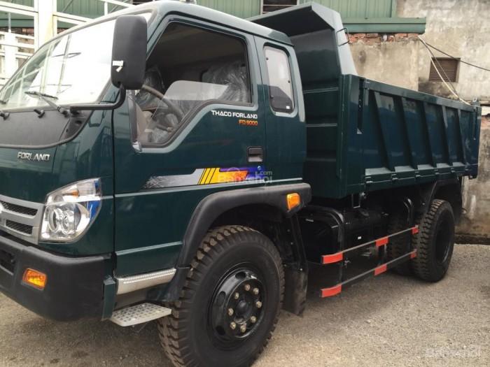 cần bán xe ben 2017 ga cơ tải trọng 5,6,8 tấn THACO FORLAND 2