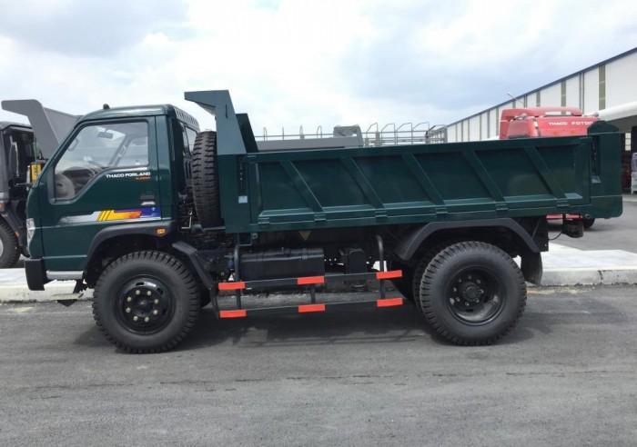 cần bán xe ben 2017 ga cơ tải trọng 5,6,8 tấn THACO FORLAND 1
